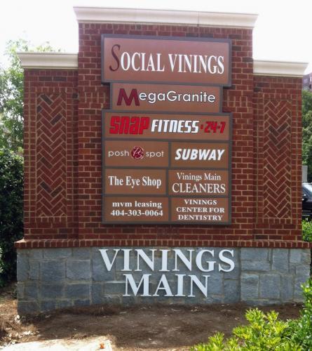 Social Vinings Monument 1